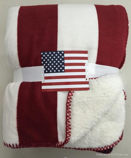 sherpa fleece coral fleece blanket 3