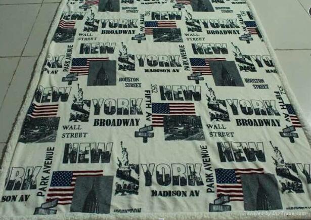 changshu city sherpa flannel blanket 5