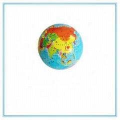 Waterproof Globe Beach Ball