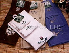 100% Cotton towel series( 3pcs/set)
