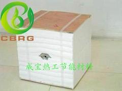 硅酸鋁纖維模塊應用於工業爐保溫