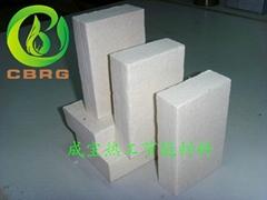 成宝耐高温硅酸铝板专业应用于工业炉背衬材料