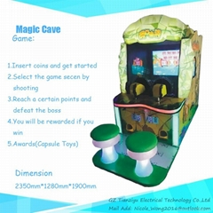Kiddie rides Coin-opeater Game machine Magic Cave
