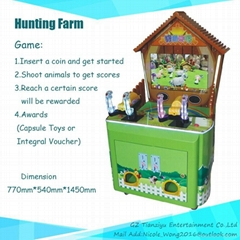 Kiddie Shoot Coin-opeater Game machine Hunting farm