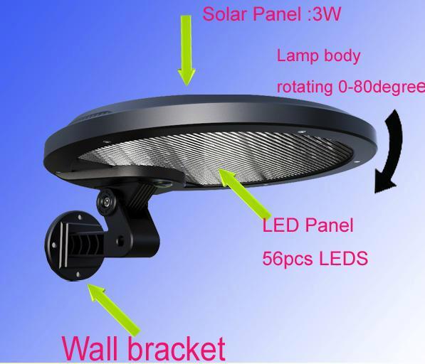 Solar motion led light 3