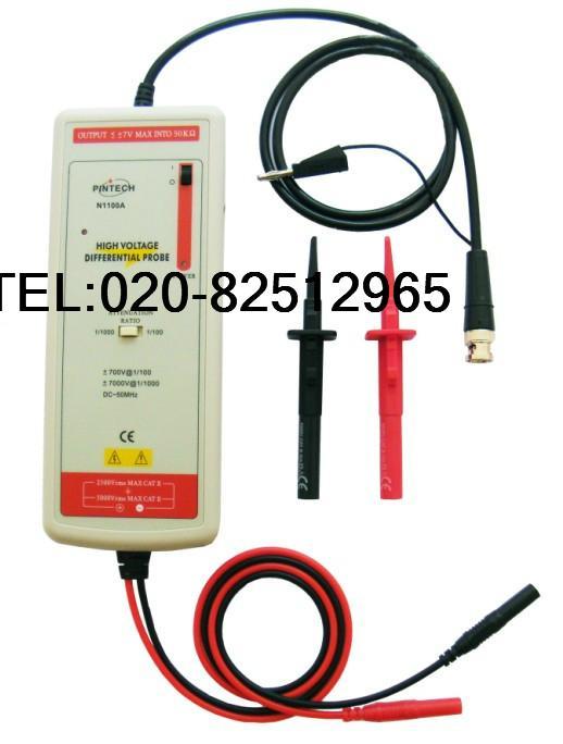 高精度差分探頭N1015A(1500V,100MHz) 1