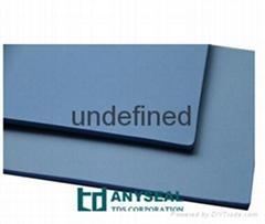 蓝色填充改性聚四氟乙烯板