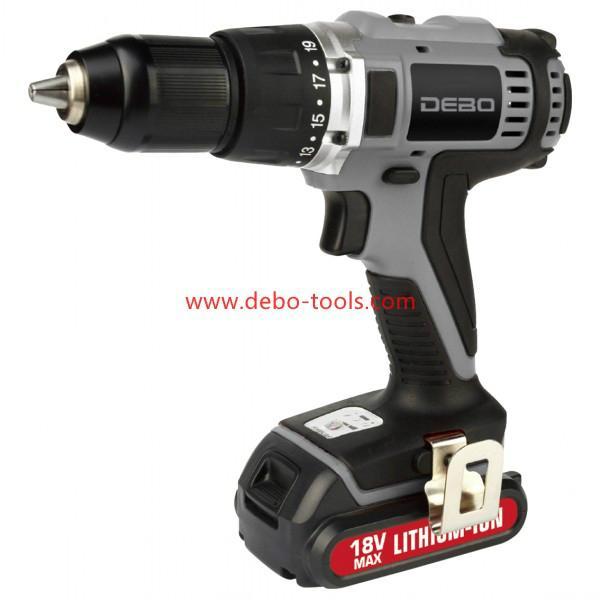 18V Li-ion Cordless Hammer Drill Professional 1