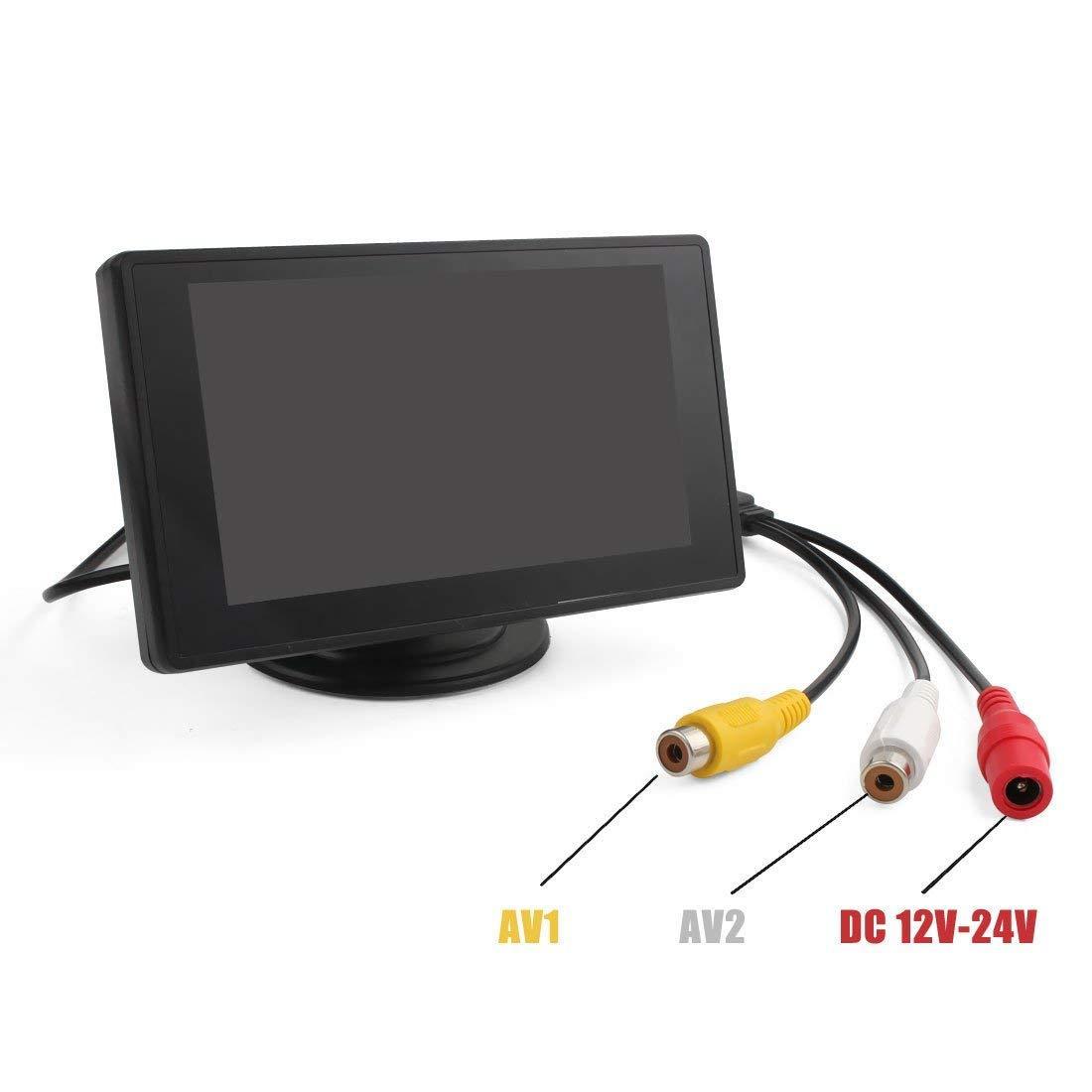 4.3寸鏡面微型顯示屏監控器 3
