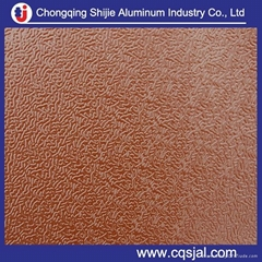 coated  and embossed aluminum coil sheet  price