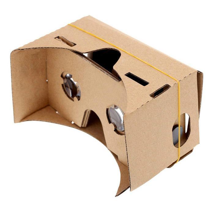google谷歌3D卡纸纸板虚拟现实眼镜带蓝牙遥控器 2