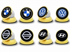 M2 Universal Car Branded logo OEM 360' Rotation Magnetic GPS Car Phone Holder