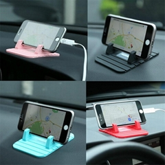 Anti-slip Mat Soft Silicone Car Mount Holder for Cellphone