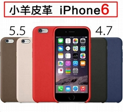 1:1 Genuine Leather PU Protective Back Case For iPhone 6 4.7'' 6 plus