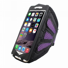 Sports Gym Neoprene + PVC Armband Case waterproof bag for iPhone 6 6 plus