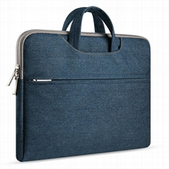 "Suitings Laptop Portable Inner Sleeve Bag Handbag for MACBOOK 13"" 15'' 15.6''"