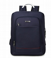 14'' square large capacity computer business backpack Oxford cloth laptop bag