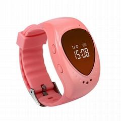GPS Tracker Bracelet GSM Locator Watch Phone w/ Google Map SOS for Kid