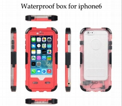 Crystal Sport Full Body Waterproof Case for IPHONE 6/6S  4.7''