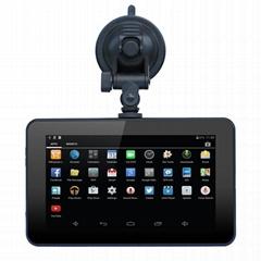 "7"" LCD Android 4.4.2 Car GPS Navigator w/ DVR / FM / Wi-Fi / 8GB Imap"