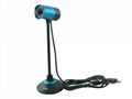 USB 8.0 MP Camera w/ Microphone for