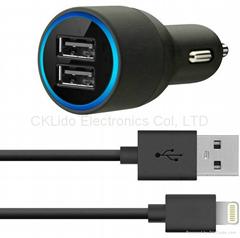 Belkin 2-in-1 USB Power Car Charger