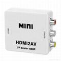 HDMI to AV Video Audio Converter /