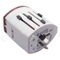 Multi Global Travel Adapter & Dual USB Charger with EU/AU/US/UK Plug 3