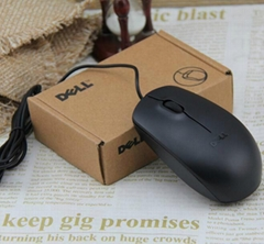 Dell MS111 Laptop Mini USB Wired Mouse