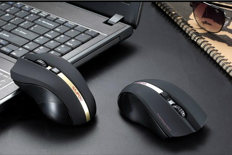 Laptop2.4G i8 1600dpi USB Wireless Mouse 5