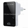 WN523N2 Portable Wall-Plug Wireless-N Router w/ WiFi Repeater 2