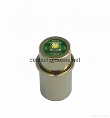 LED UPGRADE BULB A AA C D 2-6 Cell PR style flange