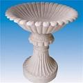 Stone Flower Pots