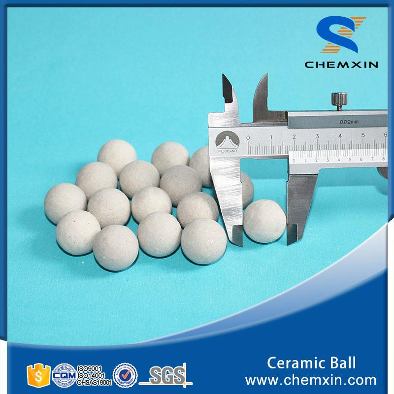 Support media 17% inert ceramic ball for petroleum chemical industries 2