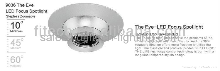 zoomable spotlight 1W 4