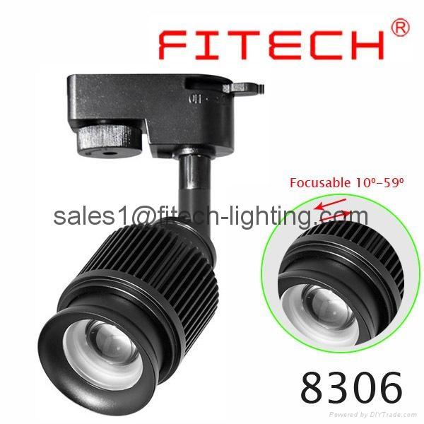 LED light,LED track light, LED focusable light 4