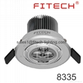 focusable spotlight downlight 1