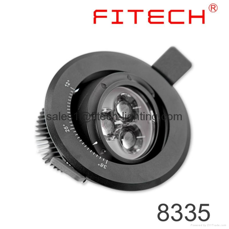 focusable spotlight downlight 5