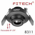 focusable spotlight downlight 3