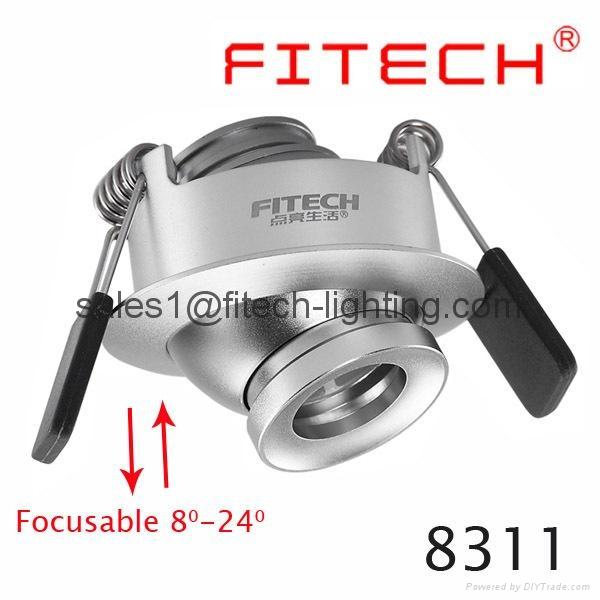 focusable spotlight downlight 1