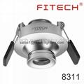 focusable spotlight downlight 5