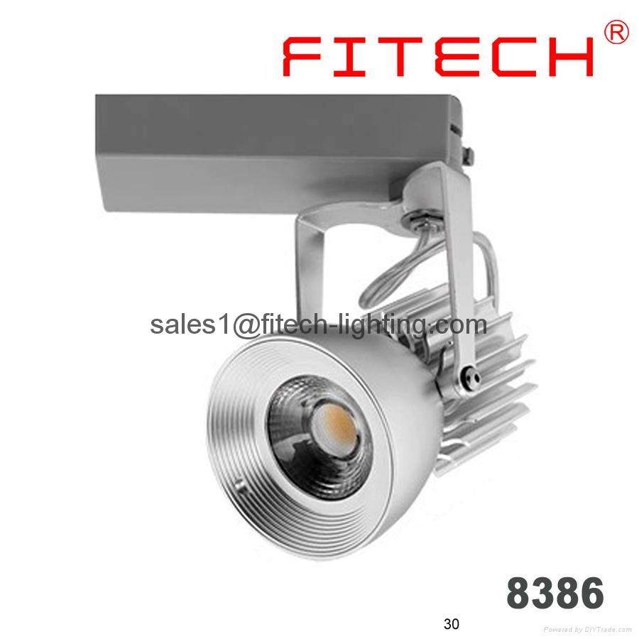 high power bridgelux cob led track light for interior design studio lighting 5