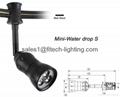 flexible led monorail track lighting adjustable beam focus for art gallery light 3