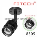 ceiling lighting zoomable surface mounted led ceiling light for art gallery 4W S 1