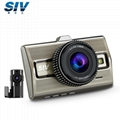 SIV-M9S前後行車記錄儀索尼雙鏡頭高清夜視停車監控1080P 2