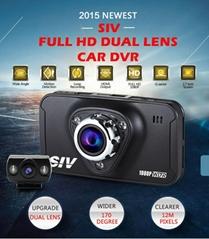 SIV-M7s Dash Cam ,Novatek 96650  AR0330 Lens 170 Degree View  Full HD 1920*1080