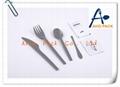 Inflight plastic cutlery pack
