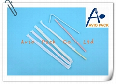 plastic disposable flexible drinking straw