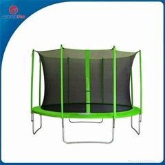 CreateFun Hot Sale Commercial Trampolines Park With basketball hoop