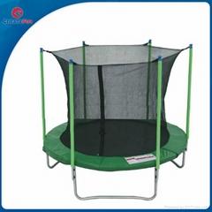 CreateFun 12FT Cheap Round Big Trampoline Beds With Basketball hoop